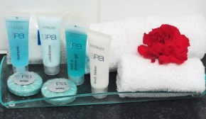 Toiletries for all rooms and apartments